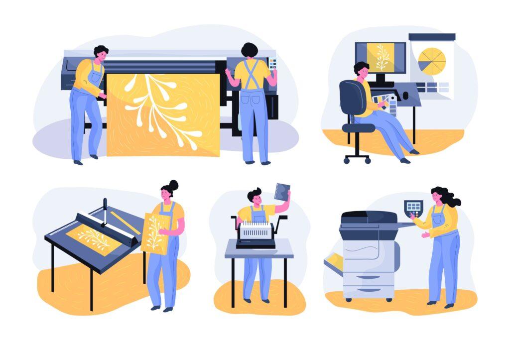 Druckerei für Vereine